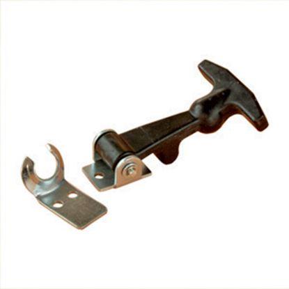 Picture of RV Designer  Black Rubber Hood Latch E205 20-1737