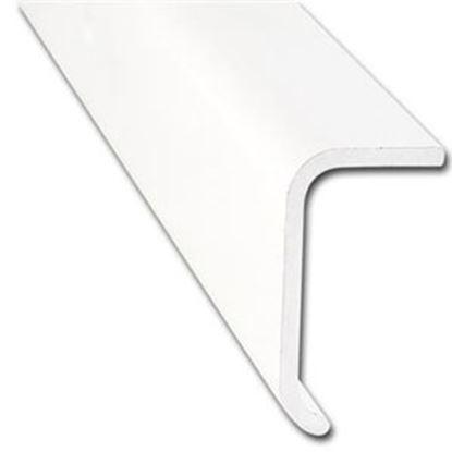 """Picture of AP Products  1-2/5""""W x 3/4""""T x 8'L Aluminum Long Leg Trim 021-86103-8 20-6997"""