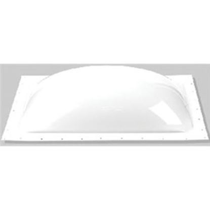 "Picture of Specialty Recreation  2-Pack 3-1/2""H Bubble Dome Square White Polycarbonate Skylight K1414W 22-0054"