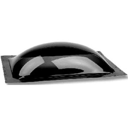 "Picture of Specialty Recreation  2-1/2""H Bubble Dome Rectangle Smoke Black Polycarbonate Skylight SL1630S 22-0071"