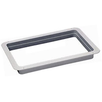 "Picture of Heng's  White 2-3/8"" Deep for 13""x20"" Opening Radius Roof Vent Garnish 90035 22-0172"