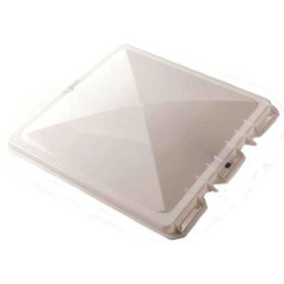 """Picture of Camco  White Polypropylene 14"""" x 14"""" Jensen Style Roof Vent Lid 40153 22-0199"""