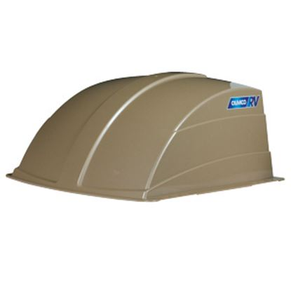 "Picture of Camco  Exterior Dome Type Champagne Roof Cover For 14"" X 14"" Vents 40463 22-0259"