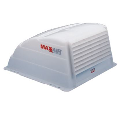 """Picture of MaxxAir  Exterior Dome Type White 19.25""""L Roof Cover For 14"""" X 14"""" Vents 00-933066 22-0370"""