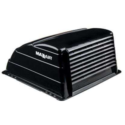 """Picture of MaxxAir  Exterior Dome Type Black Roof Cover For 14"""" X 14"""" Vents 00-933069 22-0383"""