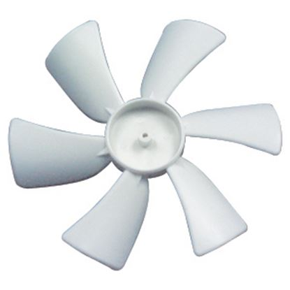 """Picture of Heng's  6"""" D Shaft CCW Fan Blade for Heng's 12V Vents JRP1002R-C 22-0398"""