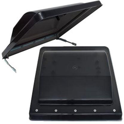 Picture of Valterra  Black Polypropylene Jensen/ Ventline/ Elixir/ Ventadome Style Roof Vent Lid A10-3376 22-0449