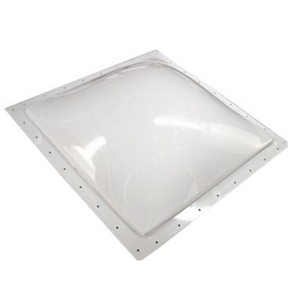 """Picture of Specialty Recreation  3-1/2""""H Bubble Dome Square White Polycarbonate Skylight w/Sealant SL1414W 22-0698"""