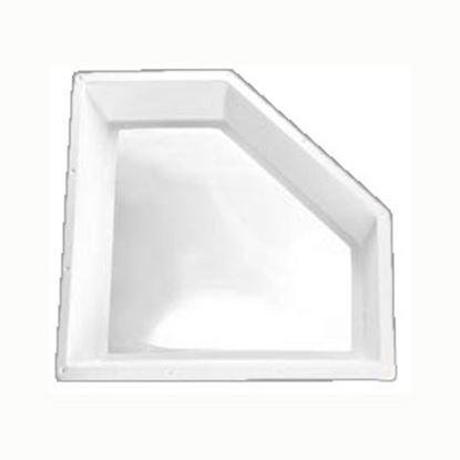 "Picture of Specialty Recreation  9""H Bubble Dome Neo Angle White/ Clear Polycarbonate Skylight NN2810D 22-0720"