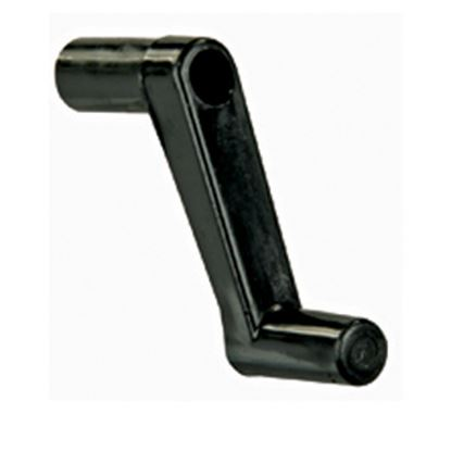 "Picture of JR Products  1"" Black Plastic Window Crank Handle 20205 23-0568"