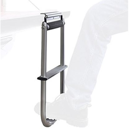 Picture of Topline  Silver 2-Step Tailgate Step TS3000-01 25-0002