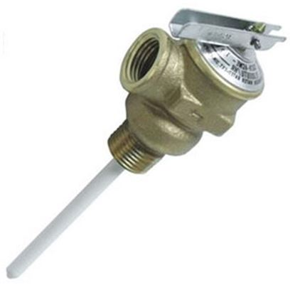 "Picture of Camco  1/2"" 150 PSI Pressure Relief Valve w/ 4"" Probe 10421 42-0111"