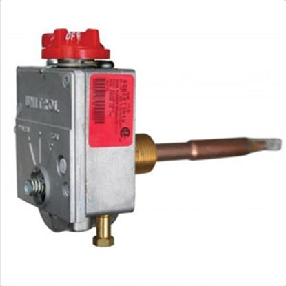 """Picture of Suburban  3/8""""NPT X 1/4""""Loxit Gas Valve For Suburban Water Heater 161112 42-0592"""