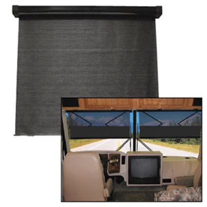 """Picture of Auto Motion  Battery Operated 29""""W x 23"""" Drop SunVisor FLX-415 69-0233"""