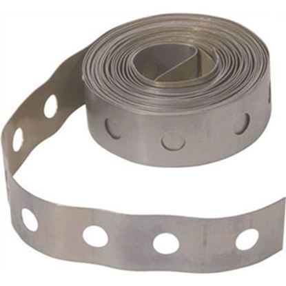 Picture of Hardware Express  10'L 24 Gauge Steel Plumbing Strap 461911 69-5266