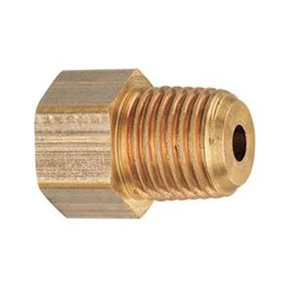 "Picture of MB Sturgis  1/4"" Female IF X 1/4"" MNPT Brass LP Adapter Fitting 402258PKG 69-6658"