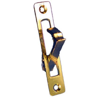 Picture of Strybuc  Brass Plate Pocket Door Pull 3582C 69-9821