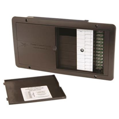 "Picture of Progressive Dynamic 5000 Series 30A 120VAC 4""L X 13.4""W X 7.1""H Power Distribution Box PD50K3Q2GP 71-0484"