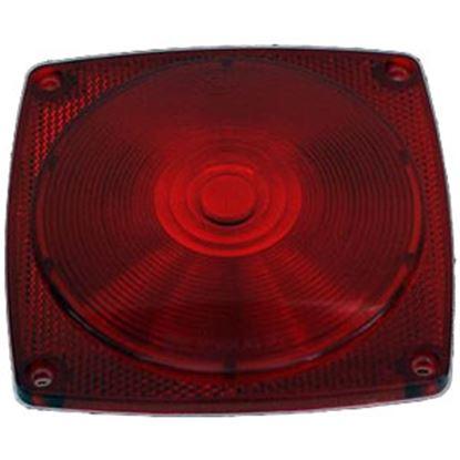 Picture of Diamond Group  Red Screw Mount Trailer Light Lens WP-V-1021L 71-2576