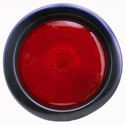 "Picture of Diamond Group  Red 4"" Round Stop/ Turn/ Indicator Light WP-400R 71-2616"