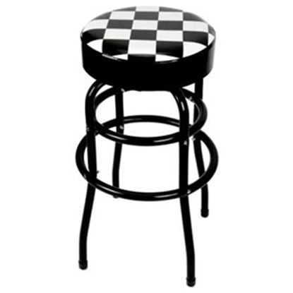 Picture of Performance Tool  Checkered Bar Stool W85023 71-4718
