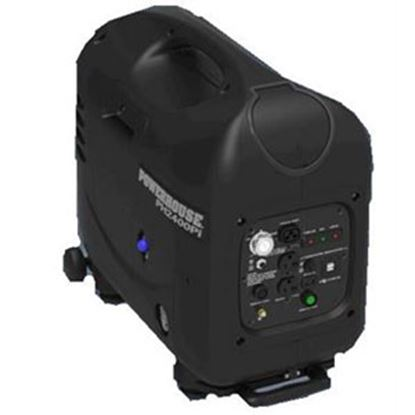 Picture of Powerhouse  2400W Gasoline Electric/Recoil Start Inverter Generator 67215 72-0678
