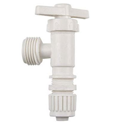 "Picture of Flair-It  1/2"" MPT x 1/2"" PEX Plastic Angle Stop Valve 16887 72-0811"