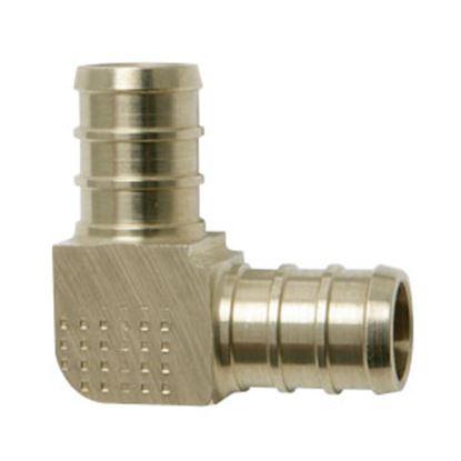 """Picture of BestPEX  1/2"""" PEX Brass Fresh Water 90 Deg Elbow 51139 72-0828"""
