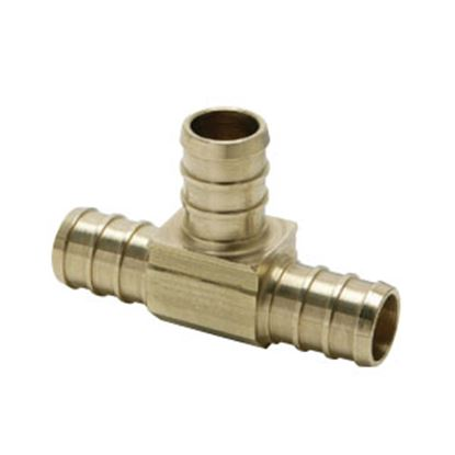 "Picture of BestPEX  1/2"" PEX Brass Tee Fresh Water Coupler Fitting 51151 72-0831"