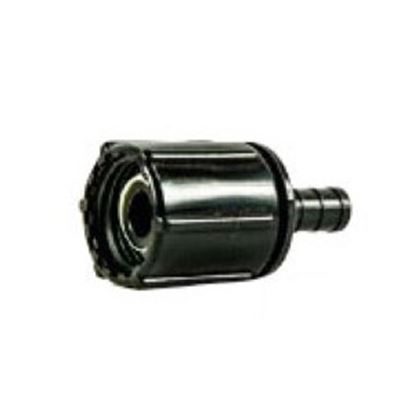 "Picture of BestPEX  3/8"" PEX x 1/2"" FPT Swivel Ribbed Nut Plastic Fresh Water Straight Fitting 28874 88-9288"