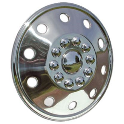 "Picture of Wheel Masters  Single 16-1/2"" 8-Lug Wheel Cover  97-0259"